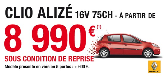 clio alizee AUTOMOTIVE MARKETING répond à vos questions!
