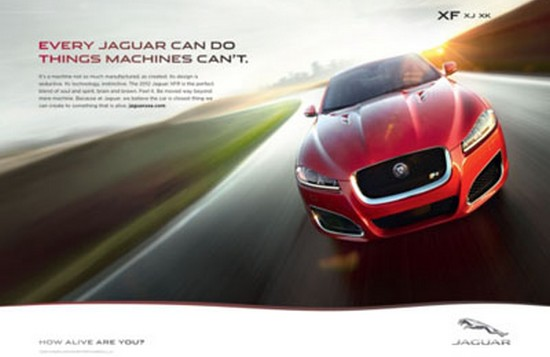 jaguar3 Jaguar se réinvente : How alive are you?