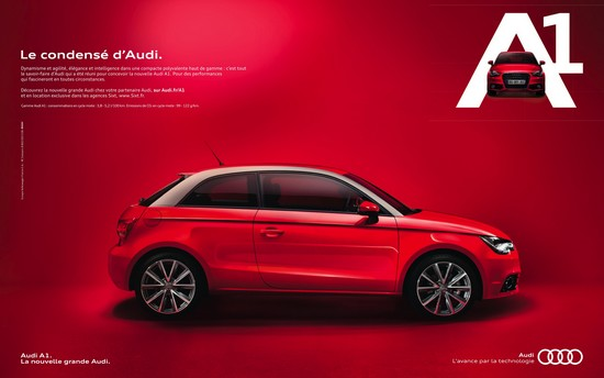 pub audi A1 AUTOMOTIVE MARKETING répond à vos questions!