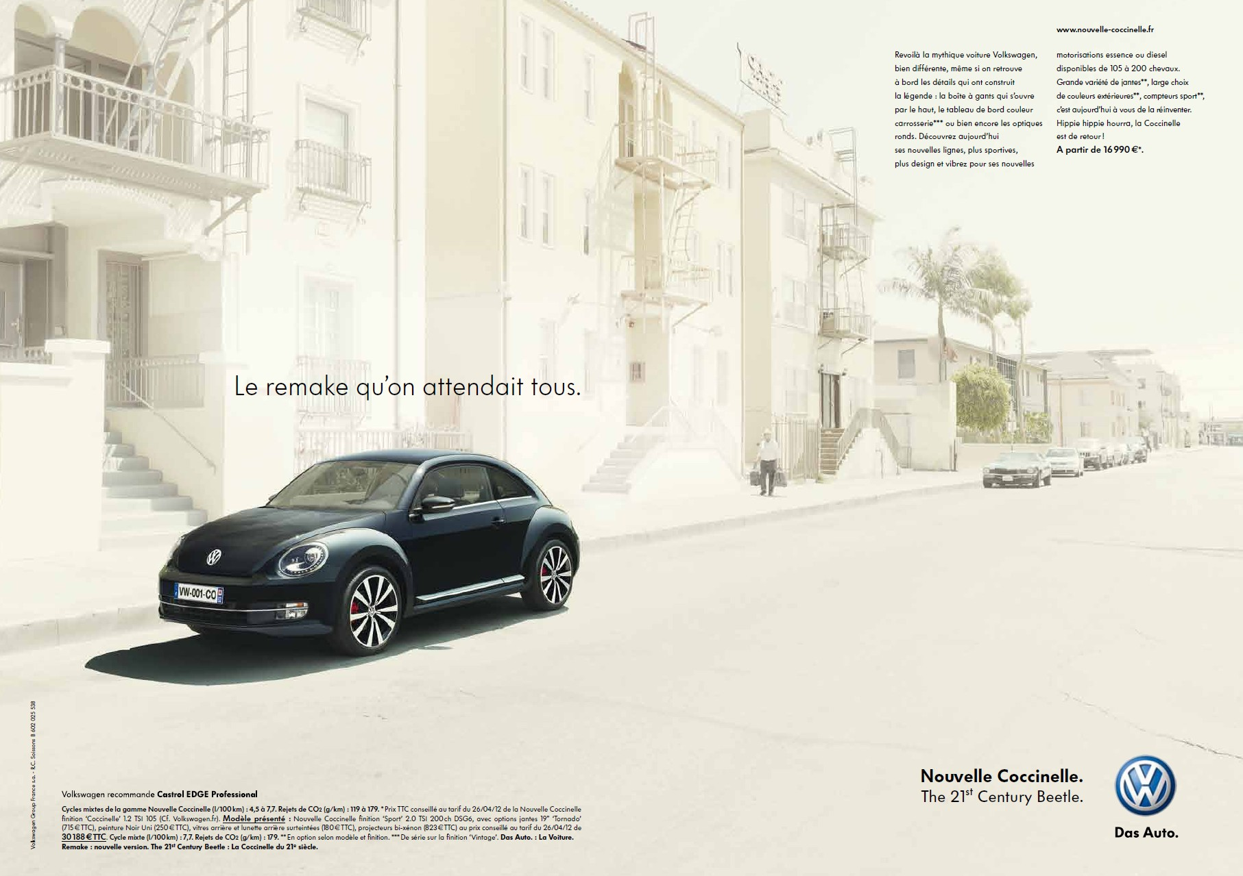 essai nouvelle vw coccinelle the 21st century beetle automotive marketing. Black Bedroom Furniture Sets. Home Design Ideas