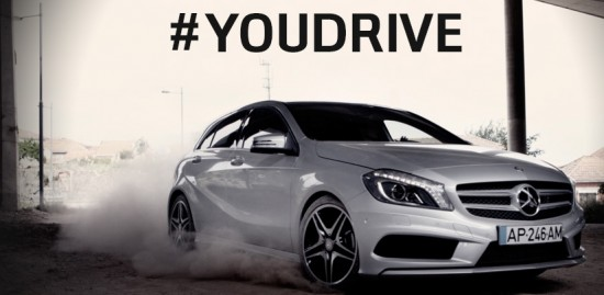 YOUDRIVE 550x269 MERCEDES: PUB TV INTERACTIVE