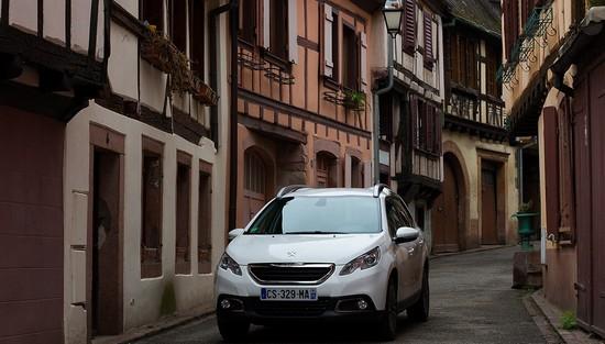 2008 ville Essai Peugeot 2008 : Voyez la ville autrement!
