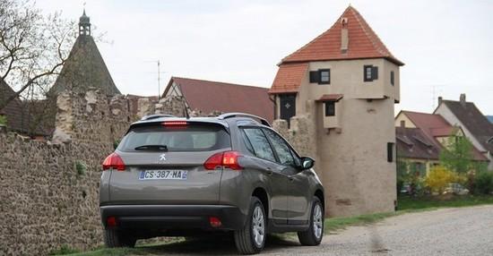 alsace Essai Peugeot 2008 : Voyez la ville autrement!