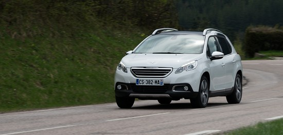 route Essai Peugeot 2008 : Voyez la ville autrement!