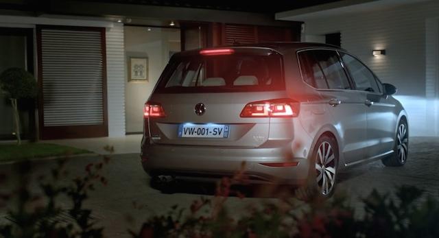 nouvelle vw golf sportsvan parents mais pas seulement automotive marketing. Black Bedroom Furniture Sets. Home Design Ideas