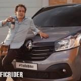 #TraficRider : Quand Renault rejoue K2000 pour le nouveau Trafic!